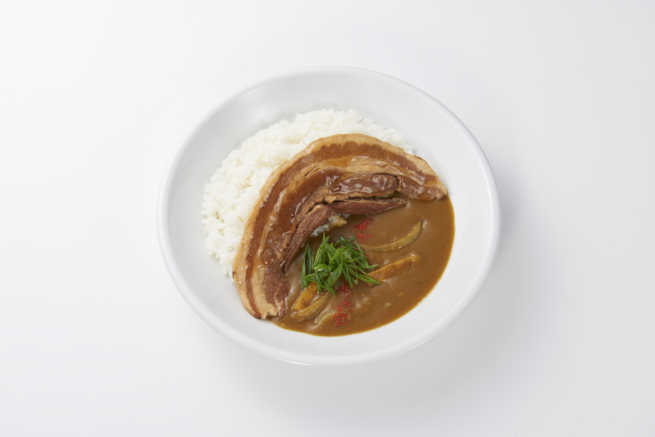 【飛騨旨豚】とろとろ角煮カレー