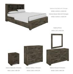 Sedona bedroom DOVER BEDROOM RANGE - Bedroom furniture
