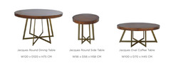 JACQUES OCCASIONAL TABLES