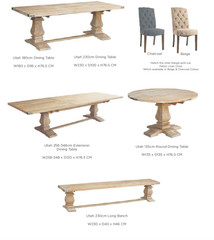 UTAH RANGE - living room furniture