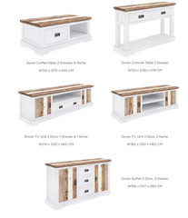 DOVER RANGE - living room furniture