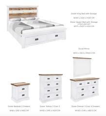 DOVER BEDROOM RANGE - Bedroom furniture
