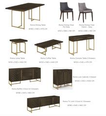 ROMA RANGE - living room furniture