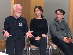 Professor Patrick McGorry - Aus, Associate Professor Sally McCarthy - Aus, Professor Masafumi Mizuno - Japan