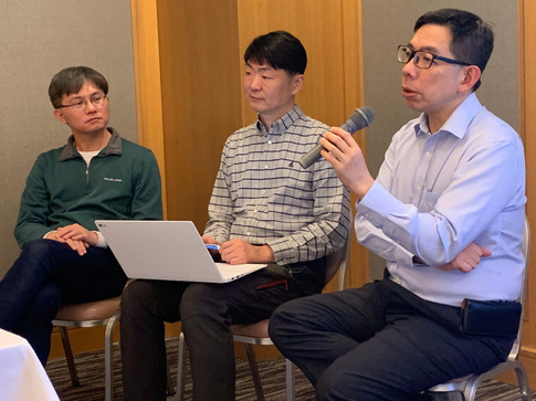 Professor Kuan-Pin Su - Taiwan, Professor Sung-Wan Kim - South Korea, Professor Eric Chen - Hong Kong