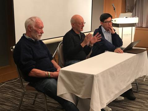 Professors Patrick McGorry - Australia, John Kane - USA, Eric Chen - Hong Kong