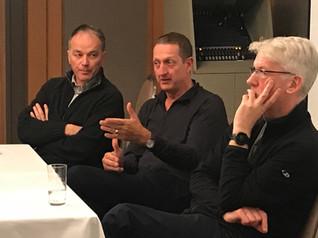 Professors Philippe Conus - Switzerland, Ian Hickie - Australia, Max Birchwood - UK