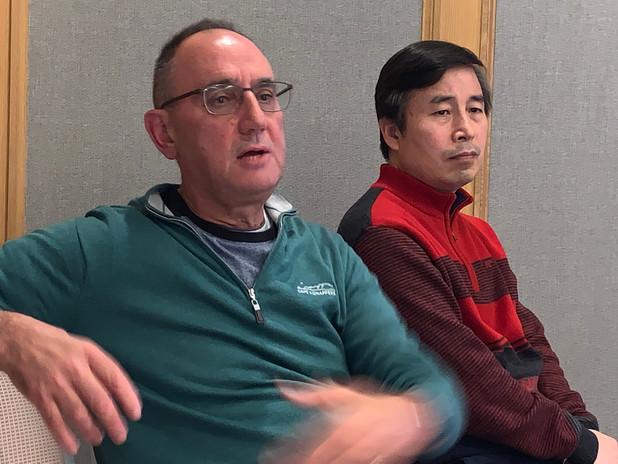 Associate Professor Anthony Joseph - Australia, & Professor Young Chul Chung - Korea