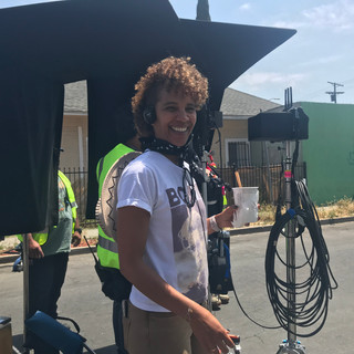 On location in Boyle Heights for Netflix's Gentefied, shot compliments of EP and director America Ferrera