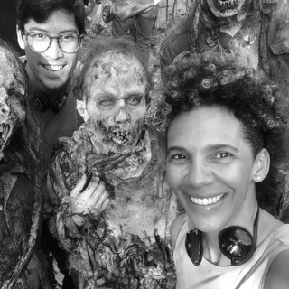 Fear the Walking Dead with walkers and writer Richard Naing on season 5 ep 7.