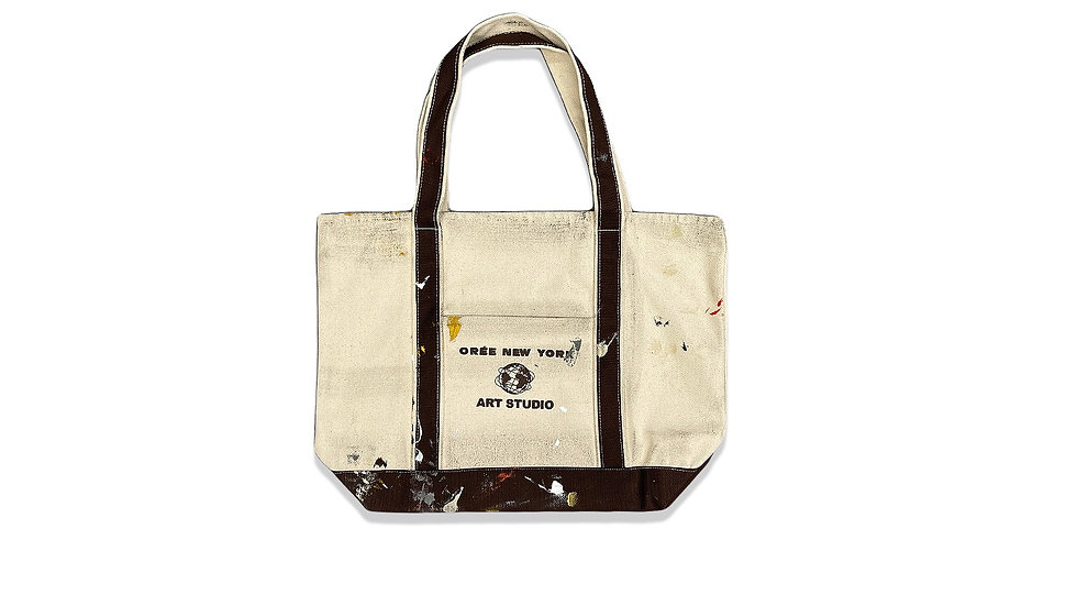 "SS21 Staff Paint Vacation Bag ""Espresso"""