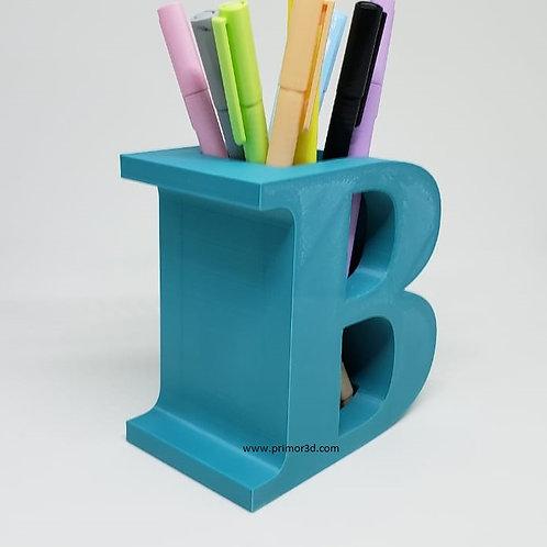Porta canetas - Letras