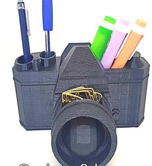 Porta trecos-Máquina fotográfica