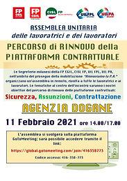 Assemblea LAVORATORI piattaforma contrat