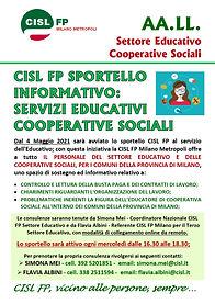 Volantino CISL FP Milano Metropoli - spo