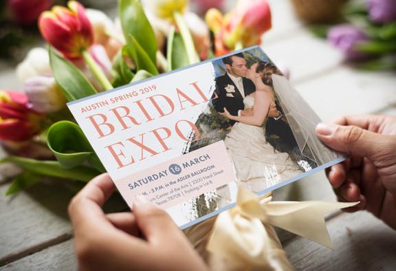 Bridal Expo Mailer Invitation