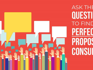 15 Questions You Should Ask to Hire the Perfect Proposal Consultant