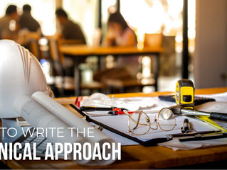 8 Steps to Write an Impressive Technical Approach