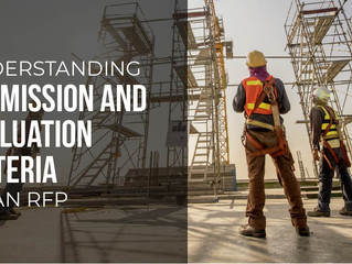 Dissecting Submission and Evaluation Criteria of an RFP