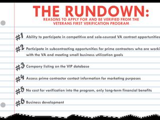 The Rundown on the Veterans First Verification Program