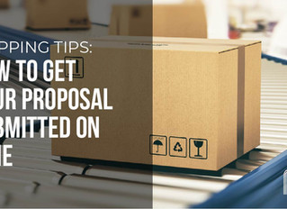 Shipping Tips to Submit Your Proposal on Time