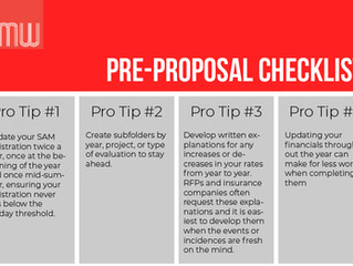 Streamline Your Proposal Management Process with Our Pre-Proposal Checklist