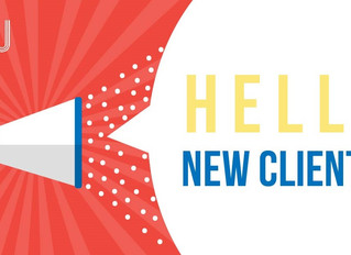 HELLO NEW CLIENTS!