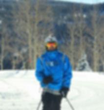 Christian Leibold skiing