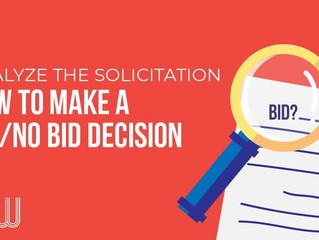 Making a Bid/No Bid Decision