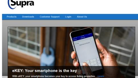 Supra Homepage