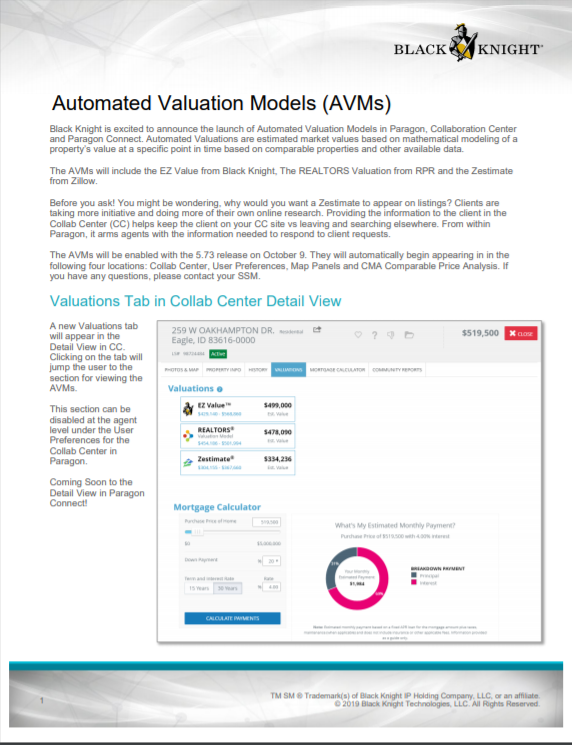 Avm document preview. Click on picture to download.