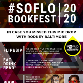 Did you hear it? AARLCC went on with Hot 105's Rodney Baltimore  #SOFLOBOOKFEST July 17-18, 2020