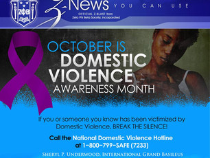 Don't Forget It's Awareness Month!