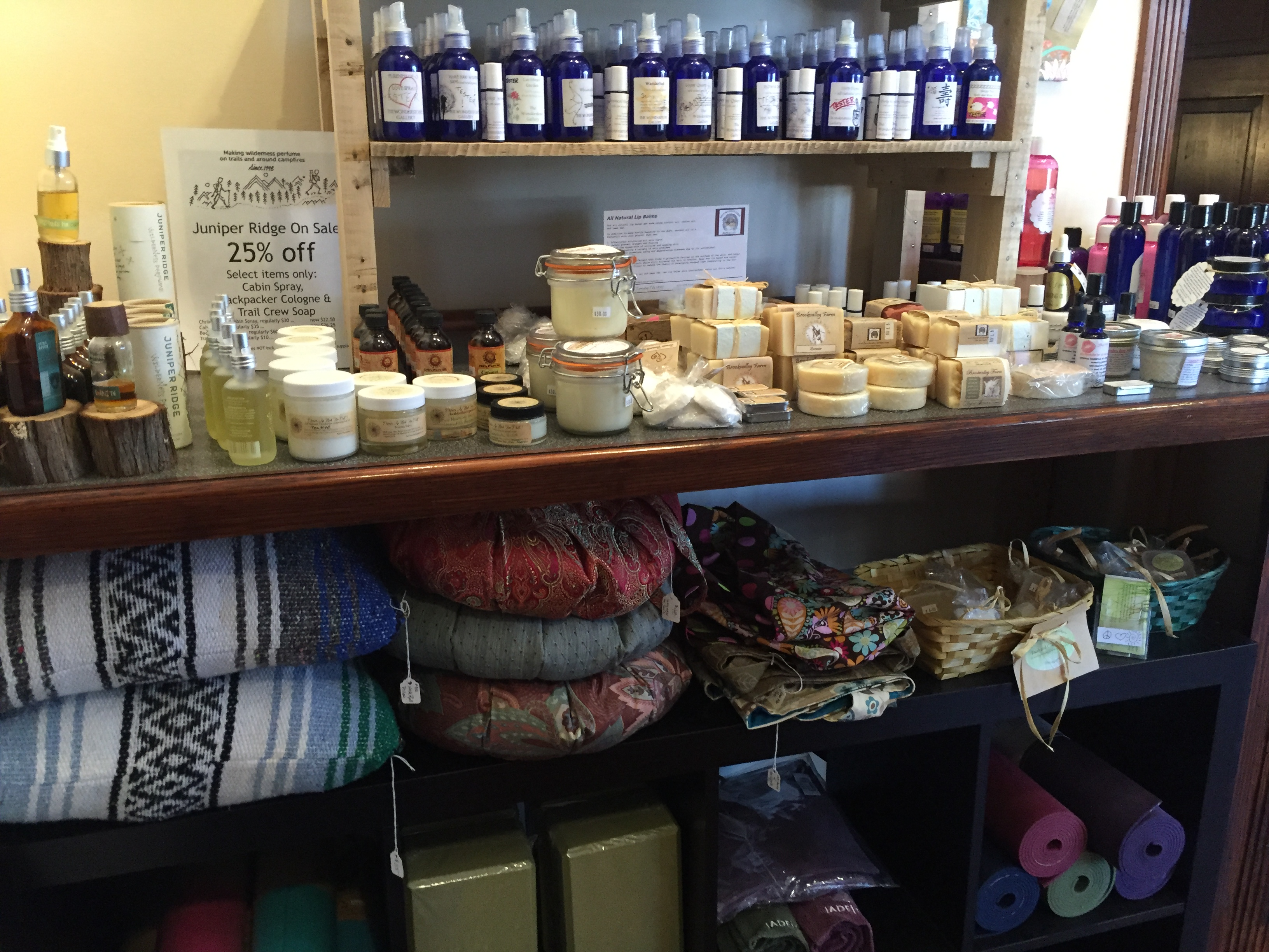 yoga gear & natural products