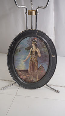 Framed Print Of Native American Maiden
