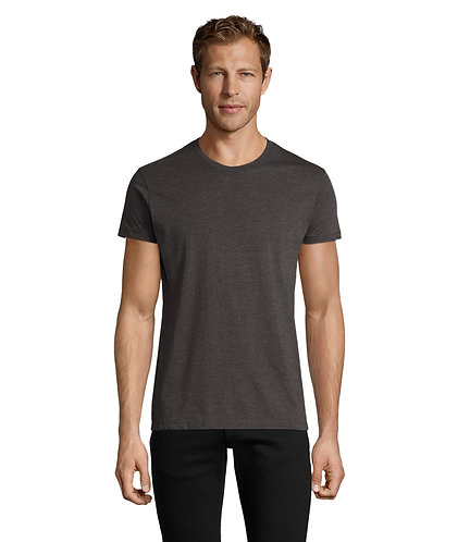 SINGLE REGENT FIT MAN T SHIRTS WITH YOUR LOGO