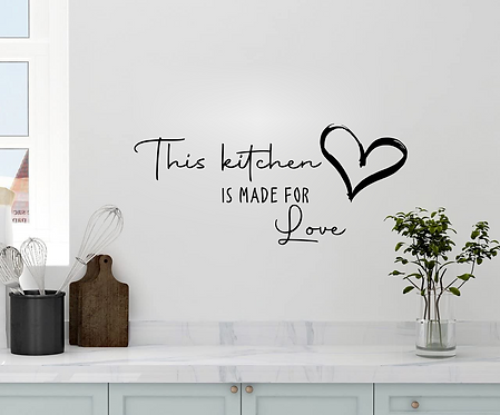 THIS KITCHEN IS MADE FOR LOVE
