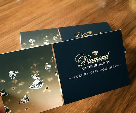 GIFT VOUCHERS / POSTCARDS SPECIAL FINISH