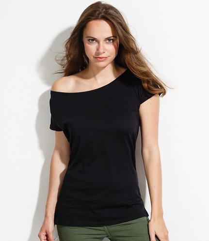 SINGLE OVERSIZED WOMAN TOP WITH YOUR LOGO