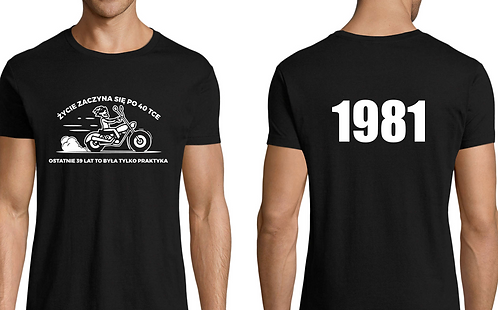 MOTOLOVERS T SHIRT PERSONALISED