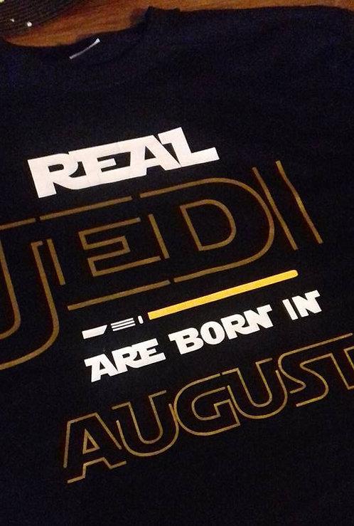 REAL JEDI ARE BORN IN...