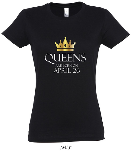 BIRTHDAY QUEEN PERSONALISED