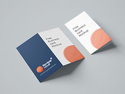 Folded-Business-Card-Free