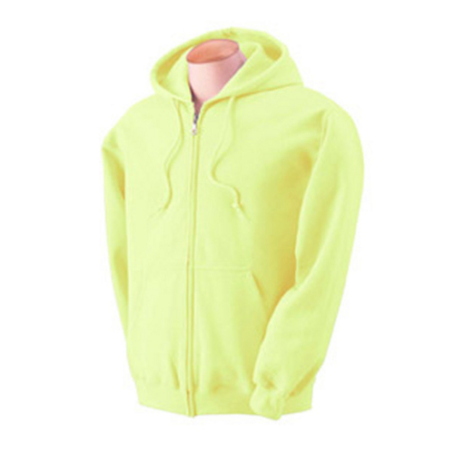 Zip Hoody Safety green