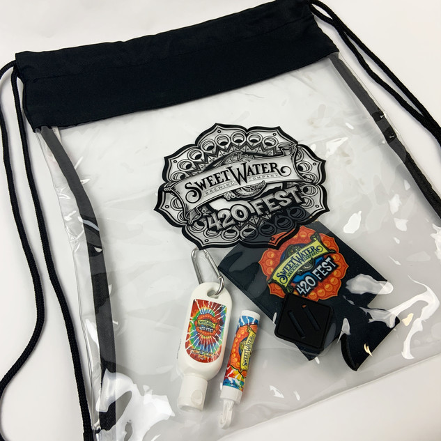 Clear Custom Stadium Bag