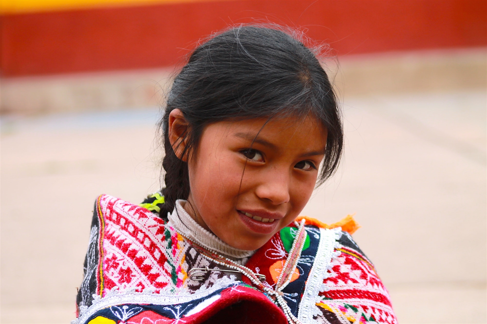 Rosaida, Andean Girl (Pisac)