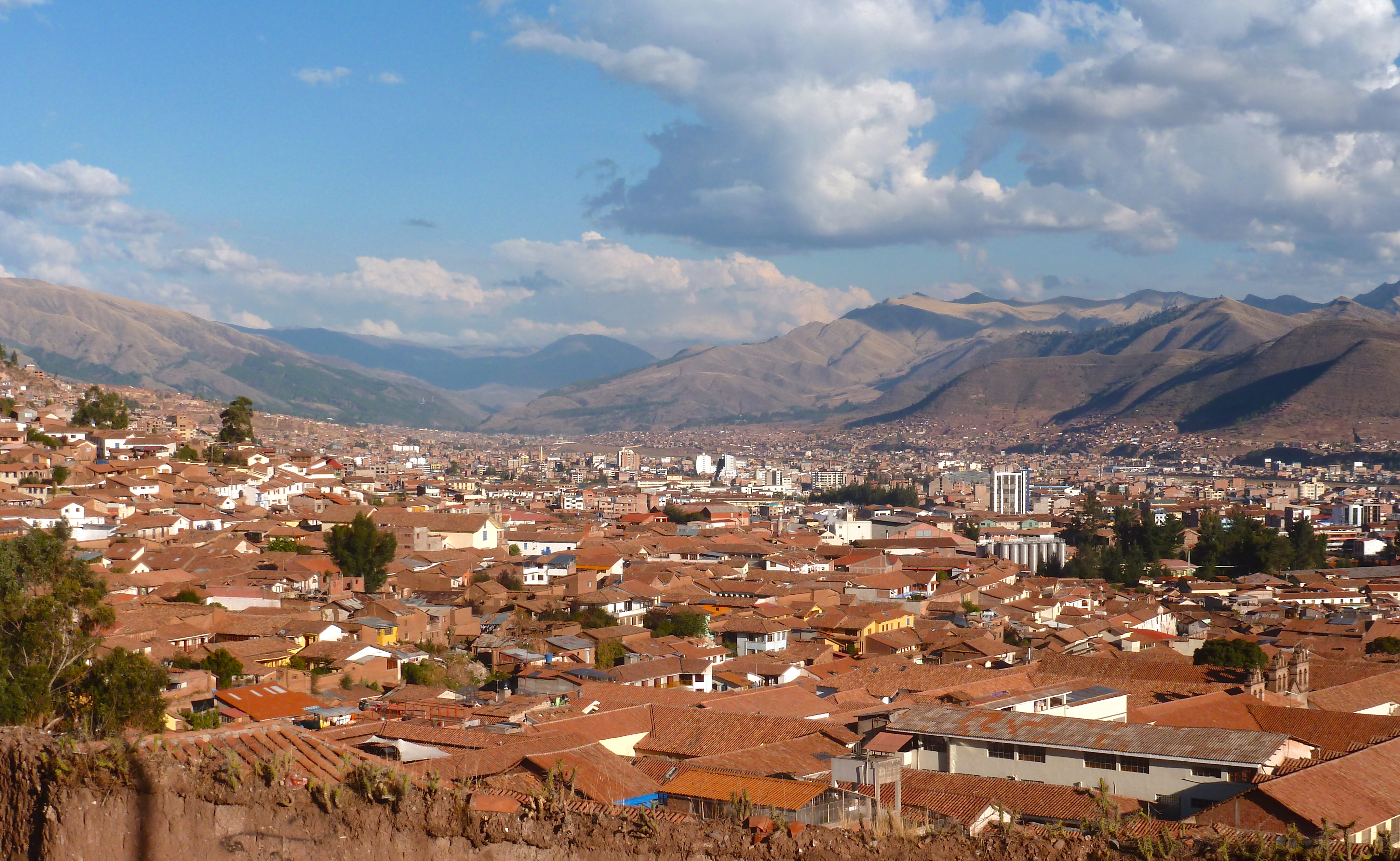 View of Cusco from San Blas