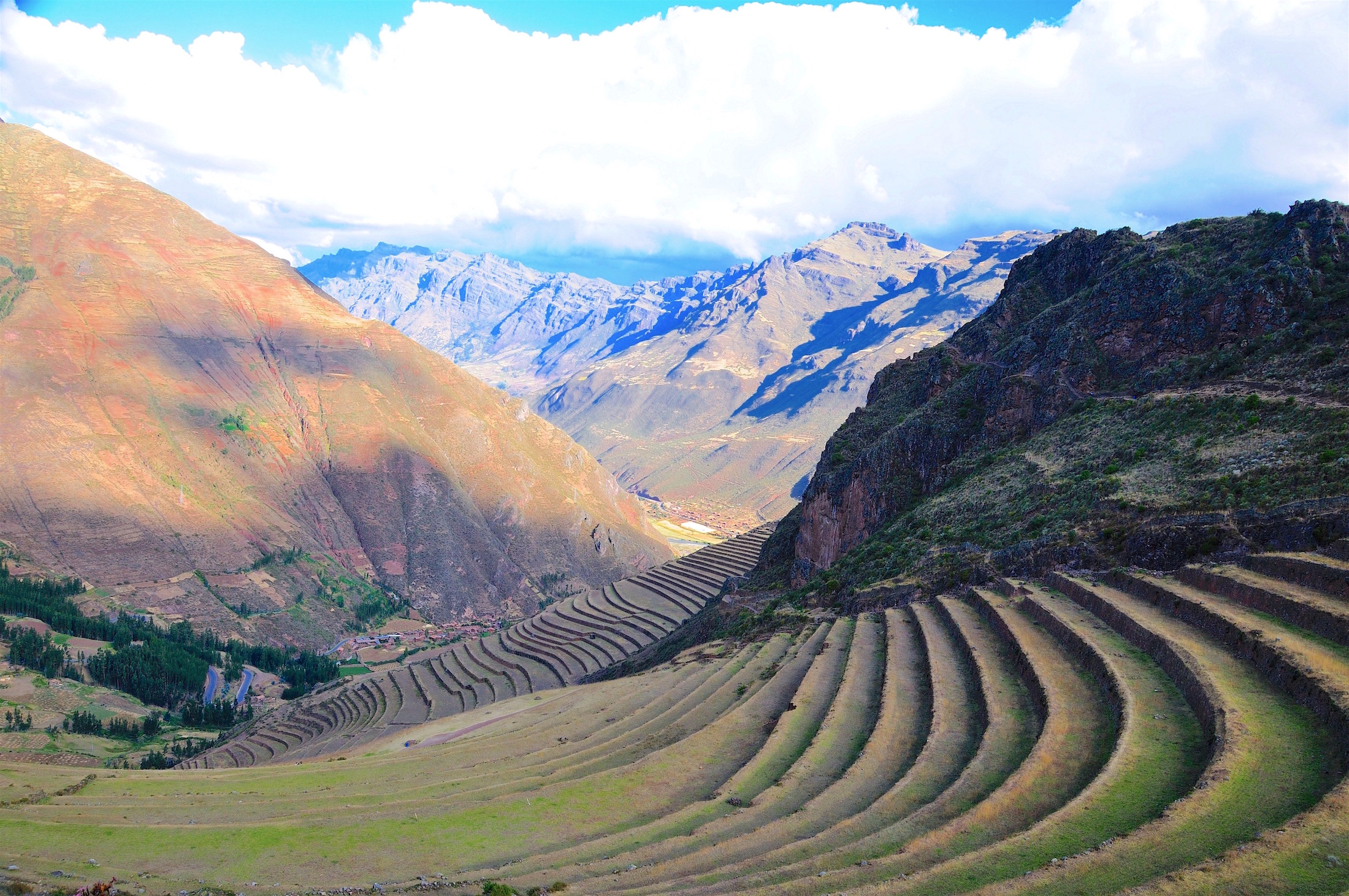 Incan Agricultural Terraces (Pisac)