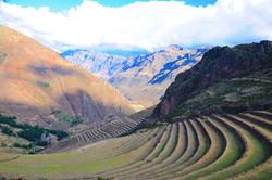 Incan Agricultural Terraces (Pisac)