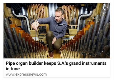 Curtis Bobsin C Bobsin Organs, Organ Service & Tuning, New Pipe Organs & Pipe Additions